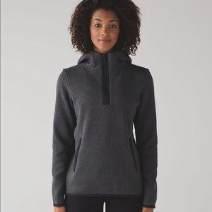 Lululemon It's fleecing cold pullover half zip